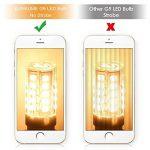 G9 Ampoule 2.5W Blanc Chaud Éclairage LED Ampoules [Équivalentes 25W Ampoules Halogènes] G9 LED Économiseuses d'énergie Ampoules (Lot de 10) parfait Éclairage pour Intérieur de la marque Goldwinge image 2 produit