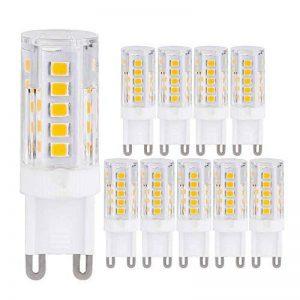 G9 Ampoule 2.5W Blanc Chaud Éclairage LED Ampoules [Équivalentes 25W Ampoules Halogènes] G9 LED Économiseuses d'énergie Ampoules (Lot de 10) parfait Éclairage pour Intérieur de la marque Goldwinge image 0 produit