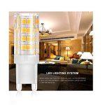 G9 LED Lamps, Blanc, Paquet de 10, 5W, 220V-240V, 4000-4500K, 350-380Lumen Lampe halogène G9, angle de faisceau à 360 ° [Classe énergétique A +] [Classe énergétique A +] de la marque Sominue image 4 produit