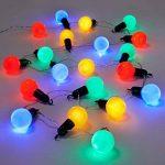 GardenKraft 62150Parti ampoule LED Fonctionnement à piles Minuteur Lumière–Multicolore (Lot de 20) de la marque GardenKraft image 1 produit