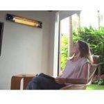 Genius Sunshine Blade | Chauffage infrarouge avec montage mural | fibre de carbone, 220–240V, 1700–2150W | Affichage LED | Neuf de la marque Genius image 2 produit