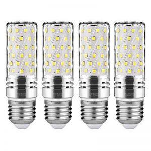 Gezee LED Argent Maïs ampoules E27 15W Candélabre ampoules 120W équivalent, 1500Lm, Blanc Froid 6000K ampoules LED Lustre décoratifs, non dimmable, Lot de 4 de la marque Gezee image 0 produit