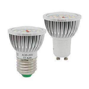GGSSYY-JNDP 2pcs E27 Gu10 LED Projecteur SMD 5730 18Leds Ampoule 85-265V Spot Light Remplacer 12W Compact Lampe Fluorescente Chaud Froid Blanc de la marque GGSSYY-JNDP image 0 produit