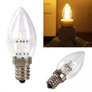 Gladle E12 0.5W 80LM Warm White Light LED Candle Lamp (AC 220V) de la marque gladle image 0 produit