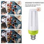Glamouro Maïs ampoules LED 20W 2000lumens pour maison de cuisine Salon salle à manger Bureau Garage Atelier porche Lot de 2, Lumière diurne, 20 Watts B22, B22 de la marque Glamouro image 4 produit