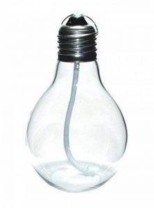 GlasXpert Lampe à Huile Edison ölkerze en Forme d'ampoule Verre, Transparent, 7x 7x 11cm de la marque GlasXpert image 0 produit