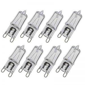 GMY Éclairage G9 Ampoules halogènes Effacer Capsule 28W 8Pack 230V 370Lm 2800K blanc chaud de la marque GMY Lighting image 0 produit