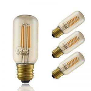 GMY Lighting® 4Pack T38 Style D'Edison LED Filament Ampoule Longue 4W 220-240V E27 2200K Ambre de la marque GMY Lighting image 0 produit