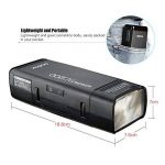 Godox AD200 Pocket Flash Speedlite pour Nikon Sony Canon EOS cameras + AD-S15 Flash Protecteur d'ampoule+ BD-07 Porte à grange avec grille en peigne de miel et 4 Filtres + Chiffon en Andoer de la marque Godox image 2 produit