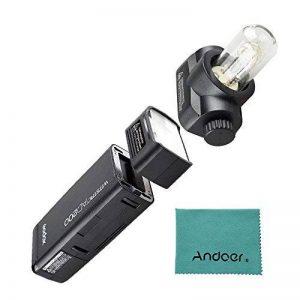 Godox AD200 TTL Mini Portable Flash Speedlite avec 2 têtes d'éclairage GN52 GN60 1/8000 s HSS intégré 2.4 G sans fil X système 200W puissance forte pour les appareils photo EOS de Canon Nikon Sony de la marque Godox image 0 produit
