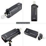 Godox AD200 TTL Mini Portable Flash Speedlite avec 2 têtes d'éclairage GN52 GN60 1/8000 s HSS intégré 2.4 G sans fil X système 200W puissance forte pour les appareils photo EOS de Canon Nikon Sony de la marque Godox image 4 produit