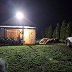 GOSUN® 70W LED Projecteur Lumière, IP65 Imperméable, 6300lm, Eclairage Extérieur LED, Equivalent à Ampoule Halogène 700W, 6000K Lumière Blanche du Jour, Eclairage de Sécurité,Garantie de 36 mois de la marque STASUN image 1 produit