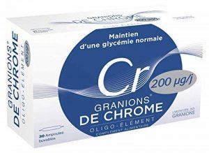 GRANIONS Chrome 200µg 30 Ampoules de la marque GRANIONS image 0 produit