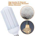 Granvoo 2Pcs E27 30W Ampoule LED Plaque Aluminium + Résistance à haute température PC Blanc Froid 111X2835 SMD AC 85-265V de la marque Granvoo image 2 produit