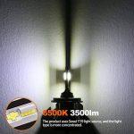 GreenClick 2*H4/ H7 Seoul-CSP LED phares Voiture Ampoules Etanche IP65 Car Headlight LED Véhicule Blanc Pur 6000-6500K Tout-en-un kit de conversion. (S1 plus, H7) de la marque Greenclick image 3 produit