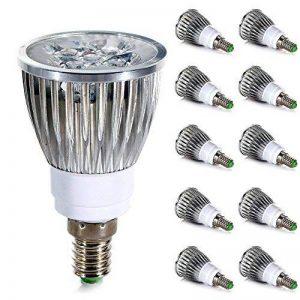 GreenSun 5W LED Spot Ampoule E14 Blanc Froid 6000K Encastré Equivalent Ampoule Halogene 40W AC 220V Lot de 10 units de la marque GreenSun image 0 produit