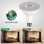 GreenSun LE Lot de 8 Ampoules LED E27 13W, Équivalent à Ampoule Halogène 90W, Dimmable,1600lm, Blanc Chaud 3000K de la marque GreenSun image 3 produit