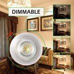 GreenSun LE Lot de 8 Ampoules LED E27 13W, Équivalent à Ampoule Halogène 90W, Dimmable,1600lm, Blanc Chaud 3000K de la marque GreenSun image 4 produit