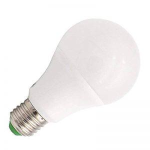 GRV Base E275730SMD Lumière LED non dimmable 7W thermique Plastique ampoule Séparation équivalent AC DC 12V 24V, blanc chaud, E27, 7.00W 12.00V de la marque GRV image 0 produit