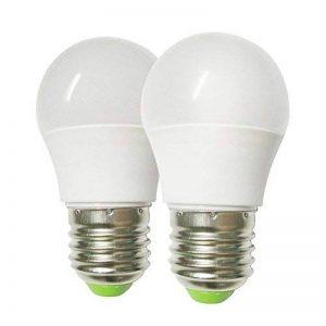 GRV E276–5730SMD Ampoule globe LED Lampe AC DC 12~ 24V 3W Plastique thermique, blanc chaud, E27, 3.00W 12.00V de la marque GRV image 0 produit