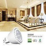 GU 5.3 ampoules LED 12V, LuminWiz 5W MR16 spots LED, 35W Ampoules Halogènes équivalent, 350Lm, 36° angle de Faisceau, 3000K blanc, 6-Pack de la marque LuminWiz image 3 produit