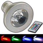 GU10 rVB lED-couleurs changeantes-avec télécommande - 4 w farblicht lampe projecteur spot ampoule lampe à incandescence de la marque PB-Versand image 1 produit