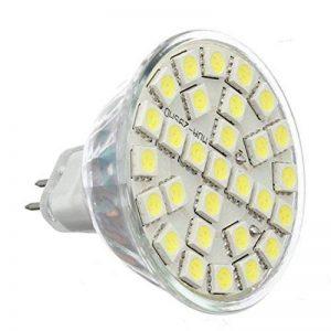 Gu5.3 MR16 LED Ampoules - TOOGOO(R)10X Gu5.3 MR16 5W Blanc Froid 5050SMD 29LED 480LM Haute Puissance LED Spot Lampe Ampoules 220V de la marque TOOGOO(R) image 0 produit