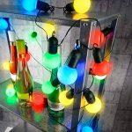 Guirlande guinguette 4,75 m 20 ampoules LED 1W - 4 couleurs de la marque Lunartec image 3 produit