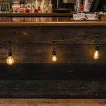 Guirlande Lumineuse Suspensions Câble Noir avec 10 Ampoules Vintage à Filament - Raccordable - 10 Mètres de la marque Festive Lights image 4 produit