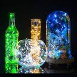 Guirlandes, Ryham 16.4ft / 5M 50 Mini Party de Noël décoratif LED Guirlande lumineuse Fil Starry pour Holiday Chambre Wedding Pub Club, 3xAA Batteries Powered, Vert de la marque Ryham image 3 produit