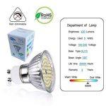 GVOREE Ampoule LED GU10 5W (=50W Ampoule Halogène) Blanc Froid 6000K 420lm 120° Larges Faisceaux Non dimmable pour Plafonnier (5W Blanc Froid) de la marque GVOREE image 3 produit
