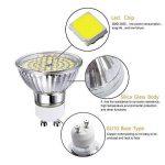 GVOREE Ampoule LED GU10 5W (=50W Ampoule Halogène) Blanc Froid 6000K 420lm 120° Larges Faisceaux Non dimmable pour Plafonnier (5W Blanc Froid) de la marque GVOREE image 4 produit