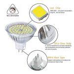 GVOREE MR16 Ampoules LED Spot,AC DC12 Volts, 5W 410lm, 50W Ampoules Halogènes Equivalentes, 4000K Blanc Neutre, Ampoules LED MR16 GU5.3, 120 °Angle d'éclairage, Non-Dimmable, Lot de 10 de la marque GVOREE image 4 produit