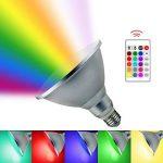 Gwendoll 20W LED RVB Par38 LED Spot RVB Haute luminosité changeant la Couleur Lampada LED Bombillas LED éclairage Lampe d'inondation à télécommande de la marque Gwendoll image 1 produit