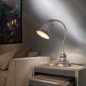 GZZ Gyy Home Hotel Lighting Lampe Fluorescente compacte avec Lampe de Bureau - Corps de Lampe en Fer, Type E14 de la marque GZZ image 0 produit