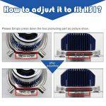 H4 Led Moto Ampoules Kit- Win Power- H4 LED Ampoule Moto Phare Hi / Lo Faisceau, Xenon Blanc 6000K 4000Lm Super Lumineux DC 12V / DC 24V, 1 Pc de la marque Winpower image 1 produit