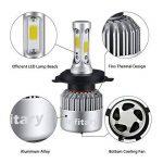 H4 LED Phare Ampoules Voiture Auto COB Lampe 72W 6500K 8000LM Super Bright de la marque Infitary image 1 produit