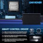 H7 CREE LED Ampoules, Phares pour Voiture et Moto, Feux Avants Auto 9600LM, 12-24V, Xenon Blanc 6000K, Garantie de 3 Ans de la marque Startway image 4 produit