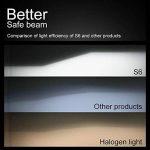 H7LED de voiture ampoules de phare kit–Wakana 7200lm H7CSP Puce kit de phare LED de voiture ampoules Auto LED kit de conversion 12V 3ans de garantie Remplacement pour halogène lumières ou ampoules HID S6-h7 de la marque Wakana image 2 produit