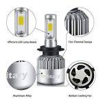 H7 LED Phare Ampoules Voiture Auto COB Lampe 72W 6500K 8000LM Super Bright de la marque Infitary image 1 produit