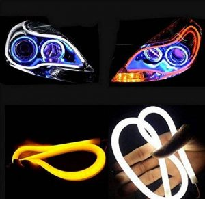 Haichen 2tubes LED blanc/ambre pour phares de voiture de la marque Haichen image 0 produit