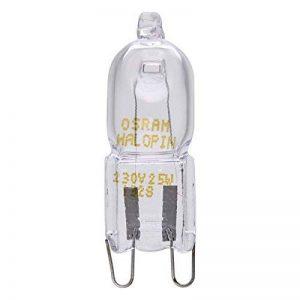 Halopin 1xOSRAM 230/240 V 25 W G9 Ampoule Capsule halogène à chaleur tournante BOSCH/NEFF/SIEMENS, DELONGHI, OCEAN, FAGOR pour four et micro-ondes Culot de la marque HALOPIN image 0 produit