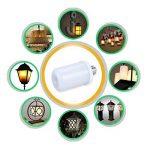 Hangang LED Flamme Ampoules Feu Flashes Émulation Atmosphère Vintage Lampes décoratives 5W E26 / E27 Ampoules Simulé Nature Gaz feu dans Antique Lanterne Hurricane pour Maison Hôtel Bar Etc. de la marque image 4 produit