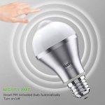 Haofy LED E26 / E27 blanc froid Ampoule de détecteur de mouvement (Une pièce) de la marque Haofy image 2 produit