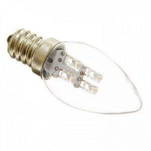 Haute qualité , E12 Ampoules Bougies LED C35 3 diodes électroluminescentes Décorative Blanc Chaud Blanc Froid 15-20lm 2700-3200K AC 100-240V Fit Maison et cuisine ( Couleur de source : Blanc froid ) de la marque JINLI Bulbs image 0 produit