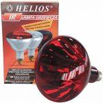 HELIOS - Basse-cour - Chauffage - Lampes - Ampoules - Ampoule infrarouge à vis rouge 175 W - E27 de la marque Helios image 1 produit