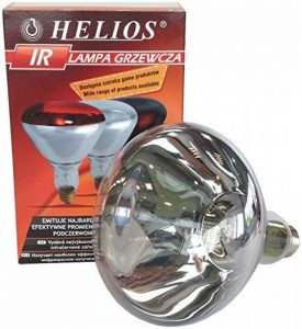 HELIOS - Basse-cour - Chauffage - Lampes - Ampoules - Ampoule infrarouge à vis blanche 250 W - E27 de la marque Helios image 0 produit