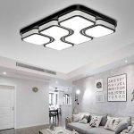 HG® 64W LED Plafonnier LED Lampe de Salon Dimmable Plafonnier Design Agréable Lumière Salon Éclairage Applique de la marque huigou image 2 produit