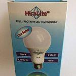 hiralite Lampe LED 14W Lumière du jour plein spectre (5000K/ra 94). Flimmer libre brillante lumière de grande qualité grâce à une nouvelle technologie innovante. Idéal pour 75W Ampoule de rechange. de la marque HIRALITE image 2 produit