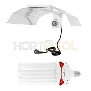 HORTOSOL Kit 200w CFL 6400k croissance Ampoule eco + Réflecteur de la marque HORTOSOL image 0 produit